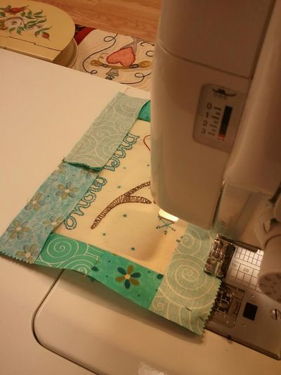 Snowbird sewing