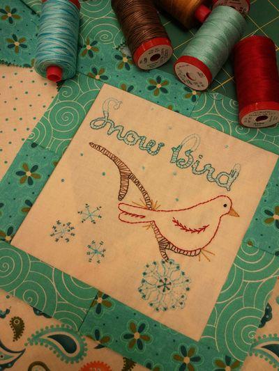 Snowbird block