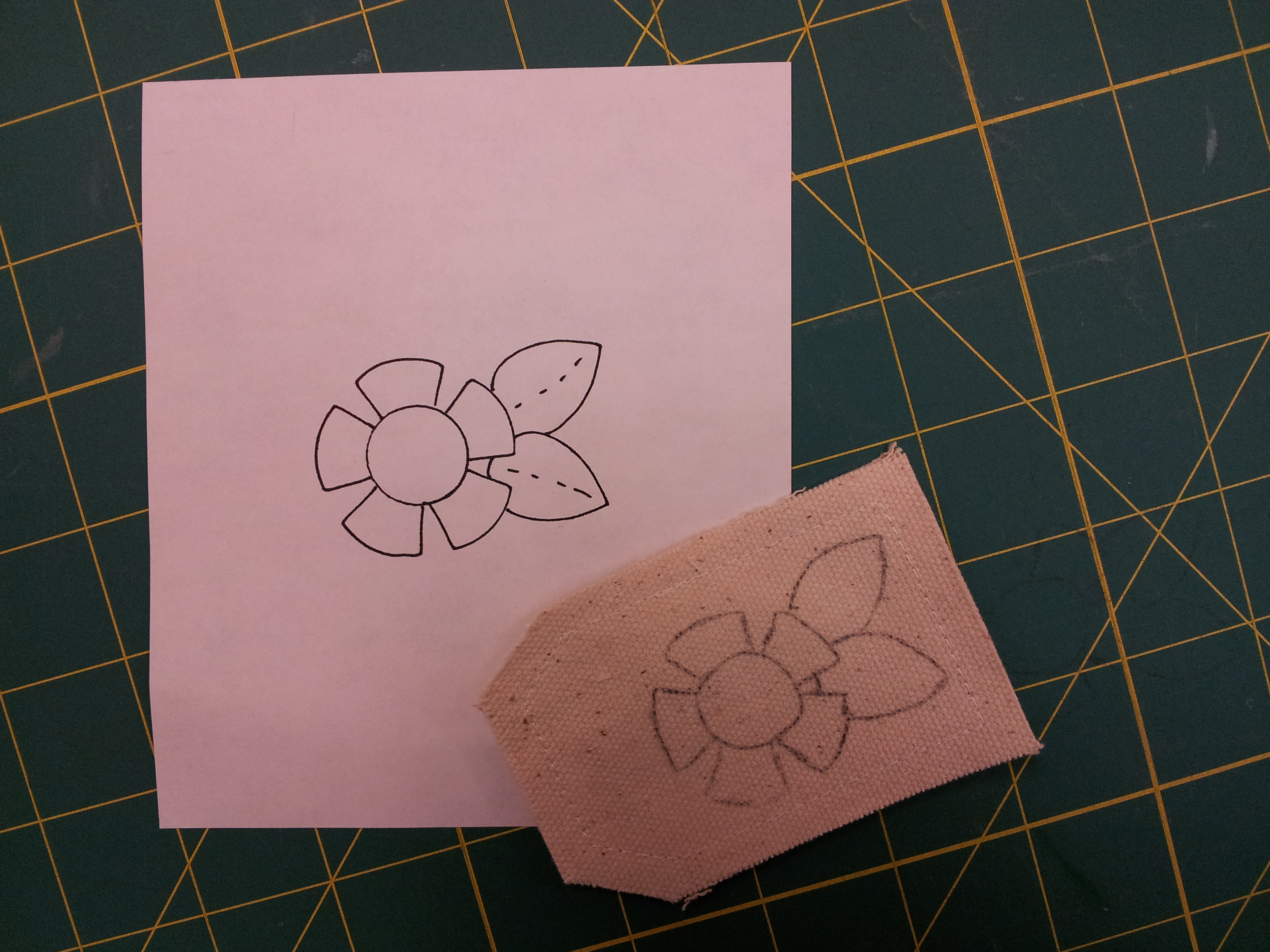 Rosebuds Cottage Stitching Tip Transfering Embroidery Designs To