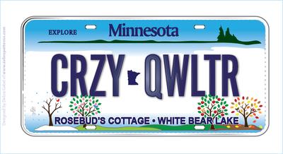 MN Rosebud's Cottage-White Bear Lake- CRZY QWLTR
