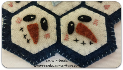 Snow Friends closeup