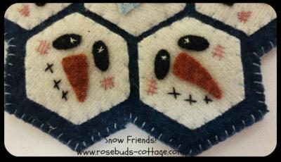 Snow Friends closeup