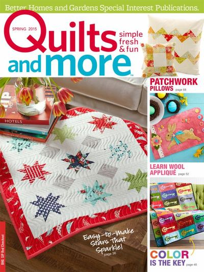Quilts and More cover